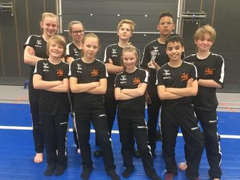 Mix Junior B in hun nieuwe outfit